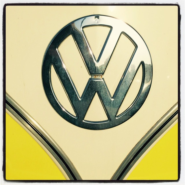 50 year-old volkswagen logo from vw bus - reality seo