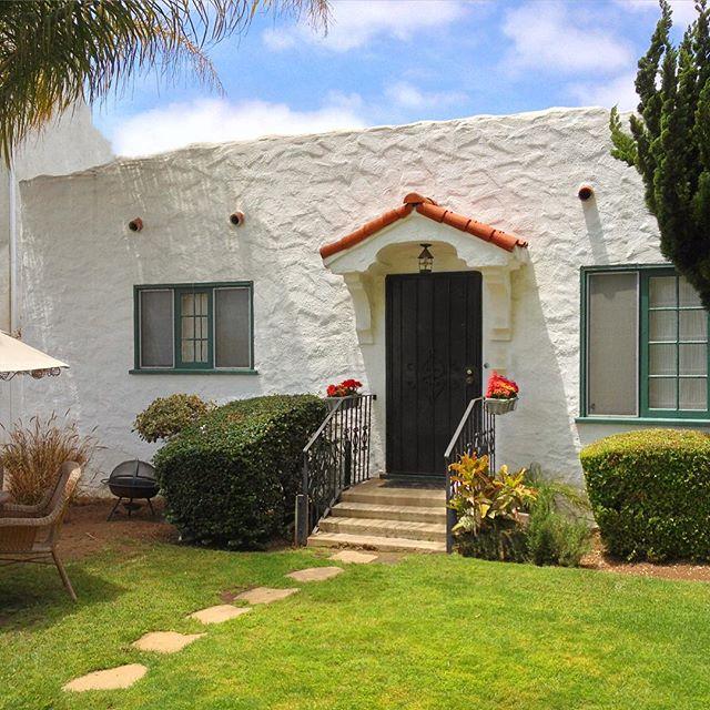 Tidy Tiny Spanish Stucco Home