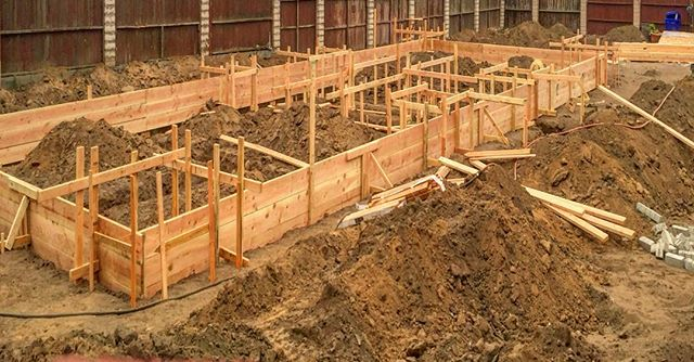 House Foundation Forms Framing