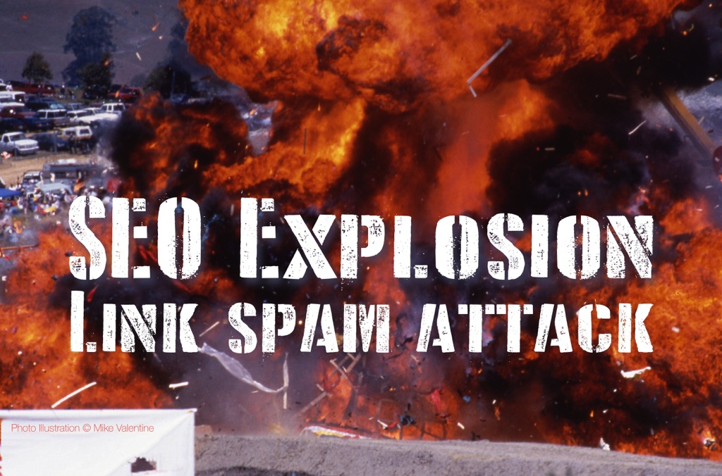 SEO Explosion Link Spam Attack