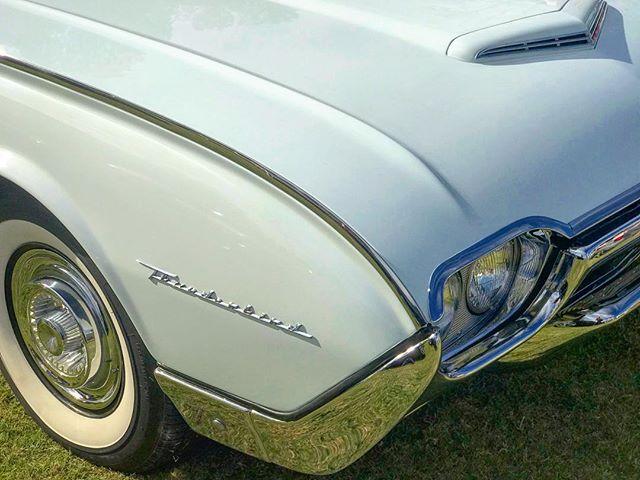 Vintage Ford Thunderbird Lines